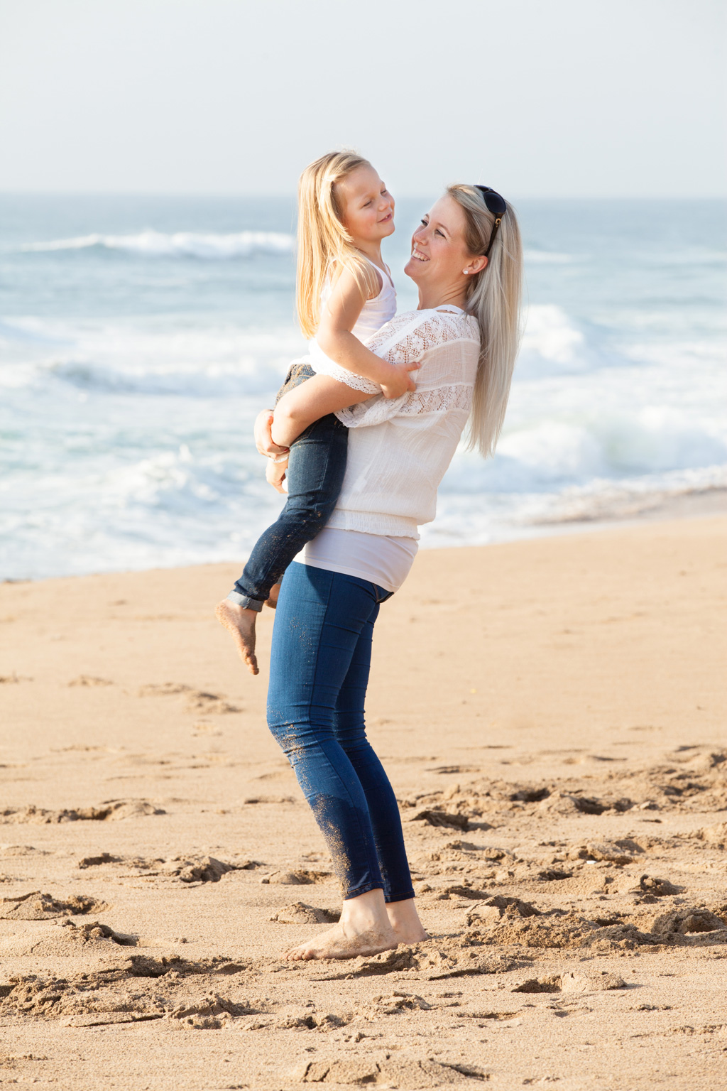 Family Photographer Durban: Nicole & Jono's Family Beach Shoot