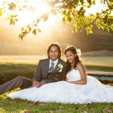 Christian Wedding at Bluff Country Club