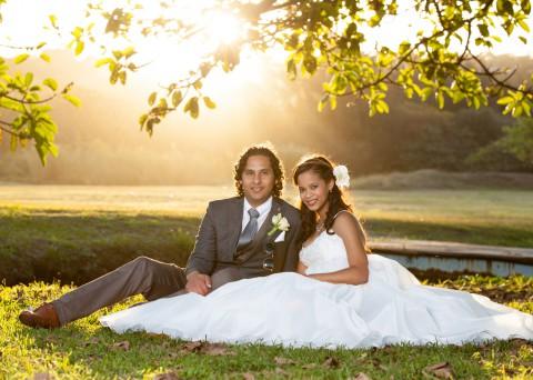 Christian Wedding at Bluff Country Club