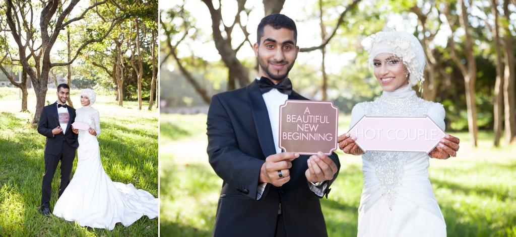 Muslim wedding photographer in Durban South Africa