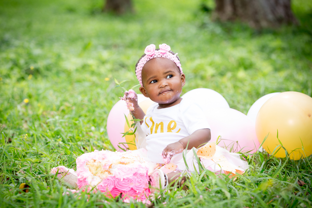family photography for Zikhona and a smash the cake for Nivuya