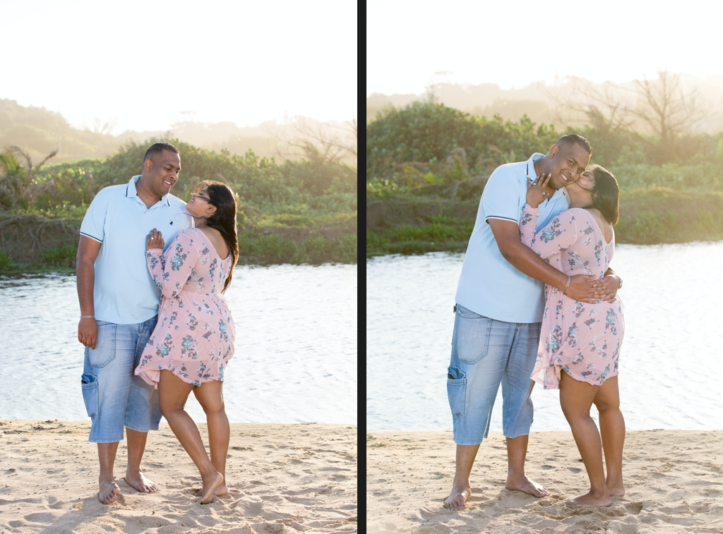 Engagement shoot in Amanzimtoti