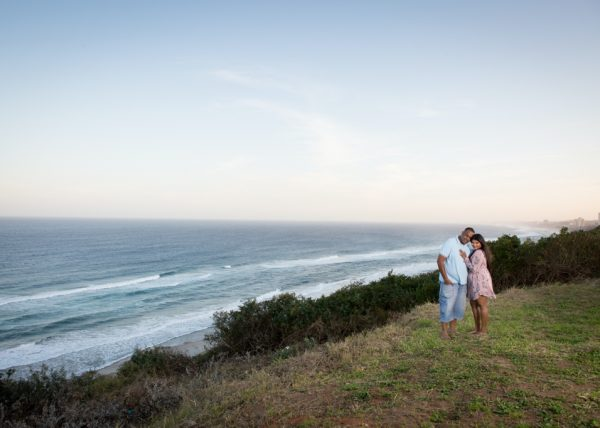 Engagement shoot in Amanzimtoti